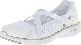 Propét Propet Womens Travellite MJ Walking Shoe, White, 7 4E US