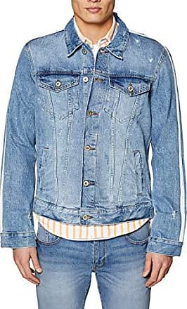 039cc2g007 Veste en Jean, (Blue Light Wash 903), Large Homme