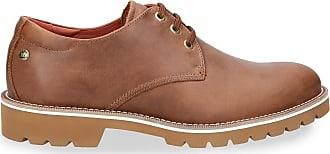 Panama Jack Mens Shoes Kalvin C6 Napa Grass Cuero/Bark 46 EU Brown