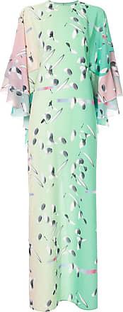 Huishan Zhang Vestido Neapolitan - Verde