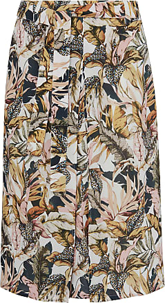 Peter Hahn Skirt leaf print Peter Hahn multicoloured