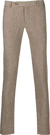 Entre Amis Calça de alfaiataria skinny - Neutro