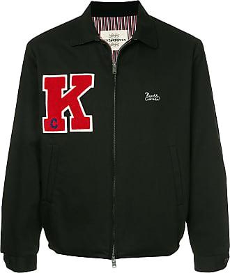 Kent & Curwen logo shirt jacket - Black