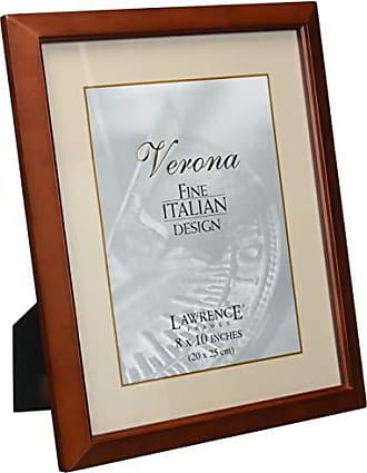 Lawrence Frames Estero Collection, Chestnut Wood 8 by 10 Picture Frame
