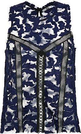 Pop Up Store Blusa de renda - Azul