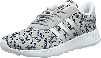 38da784895df9f adidas Neo Damen Lite Racer Sneaker Mehrfarbig (Clear Onix Matte Silver Light  Orchid