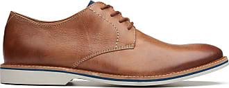 Clarks Mens Tan Leather Clarks Atticus Lace Size 11.5