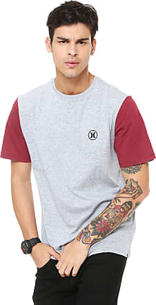 Hurley Camiseta Hurley Party Icon Cinza b77e215231b