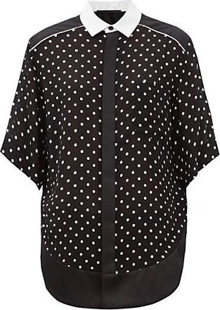 Haider Ackermann Polka-dot Crepe Shirt - Womens - Black Multi