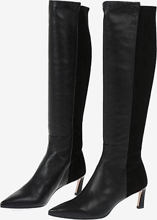 Stuart Weitzman Knee High DEMI 55 Pull On Boots 6.5 cm size 39