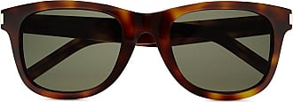 Saint Laurent Eyewear Óculos de sol quadrado SL 51/F - Marrom