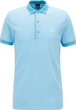 BOSS Slim-fit polo shirt in Pima-cotton Oxford piqu