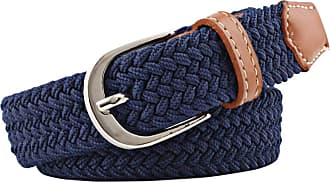 Zhhlaixing 9.8inch Stretch Belt Elastic Fabric Woven Braided Webbing Belt Breathable Sports Belt for Men/Women/Junior