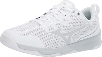 Mizuno Womens TC-02 Cross Trainer, White-Silver, 6.5