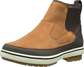 Helly Hansen Helly Hansen Mens Garibaldi V3 Slip-On Snow Boot, Whiskey/Espresso/Natural, 9.5