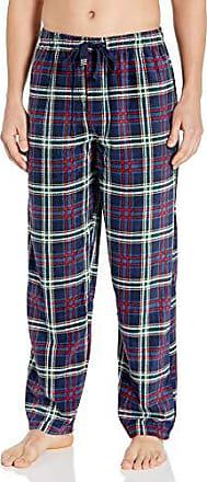 Geoffrey Beene Mens Striped Broadcloth Pajama Set