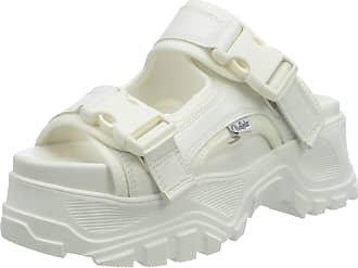 Buffalo Gldr Os 2, Womens Flat Sandal, WHITE, 6.5 UK (40 EU)