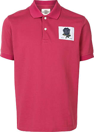 Kent & Curwen rose patch polo shirt - Red