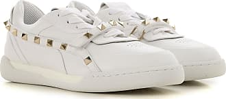Valentino Sneakers for Women On Sale, White, Leather, 2017, 10