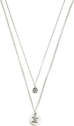 Forever 21 Forever 21 Forever Charm Necklace Set Silver