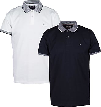 Weekend Offender Fleming Mens Short Sleeve Navy Collared Top Polo Shirt M