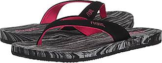 Flojos Finley (Black/Charcoal) Womens Shoes