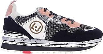 Liu Jo Fashion Womens BXX051PX02722222 Black Sneakers |