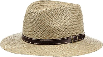 Malaga Straw Trilby for Women Straw Hat in Sizes 53 cm 57 cm and 59 cm 55 cm Men and Children |Spring//Summer Summer Hat Made of 100/% Paper Straw Sun Hat Made in Italy