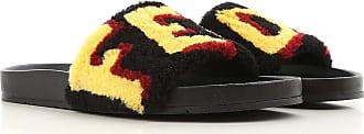 Fendi Sandals for Men On Sale in Outlet, Black, Leather, 2019, 5 5.5 6.5 7