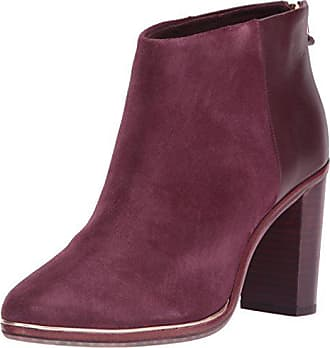 ffc96c3ae Ted Baker Womens AZAILA Ankle Boot Burgundy 10 M US