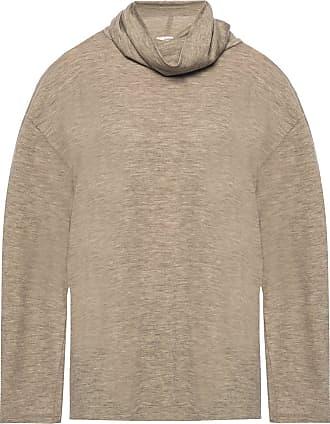 The Row Zalani Turtleneck Sweater Womens Brown
