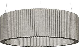 Hey-Sign Welle Deckenobjekt M Ø100cm - grau hellmeliert/Filz in 3mm Stärke/höhenverstellbar/inkl. Aufhängevorrichtung