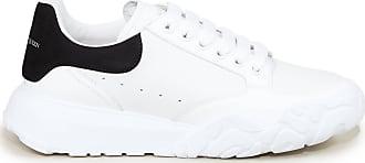 Alexander McQueen Sneaker mit breiter Gummisohle Weiß