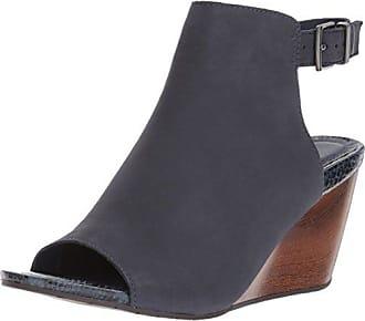 Women/'s Shoes Wedge High Heel Backstrap Patent Leather Peep ToeHeeled Platform Sandals-Black-5