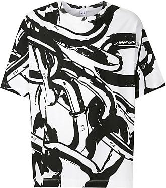 À La Garçonne T-shirt oversized Correntes - Preto