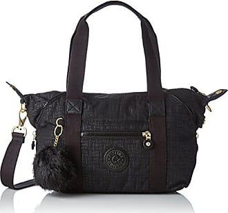 972a6ff5c1 Kipling Art Mini, Cartables femme, Noir (Black Pylon Emb), 18.5x34x21