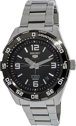 Seiko Mens SRPB81K Silver Stainless-Steel Automatic Fashion Watch