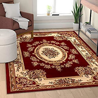 Well Woven Timeless Le Petit Palais Traditional 3630 Area Rug, 150 x 1011, Red