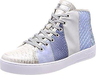 6de1afa73b46c5 Bugatti Damen 422291325959 Hohe Sneaker Silber (Silver Blue 1340) 36 EU