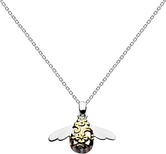 Kit Heath Blossom Bumblebee Gold Plate Necklace