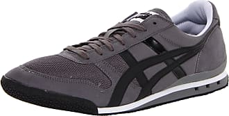 Onitsuka Tiger Womens Ultimate 81 Low Top Lace Up, Charcoal/Black, Size 10.0 US / 8 UK US