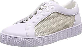 efd61cb499 Bugatti 431525625969, Baskets Enfiler Femme, Blanc (White/Metallic 2090), 38