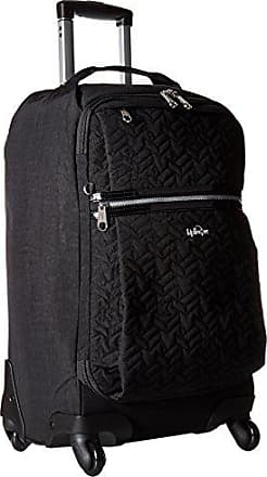 Kipling Darcey Small Solid Wheeled Luggage Carry On Bag, Black, One Size