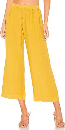 Velvet Lola Pant in Mustard