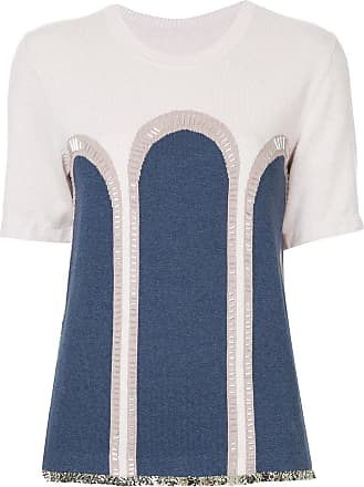 Onefifteen embellished knit T-shirt - PINK