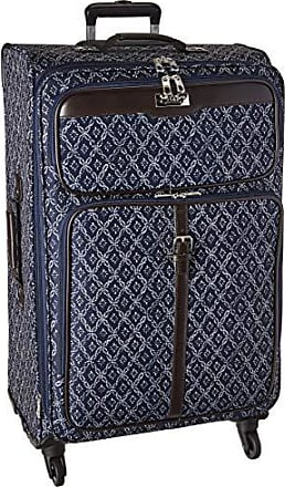 Chaps 28 Expandable Spinner Luggage Navy, Tile
