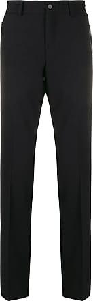 Karl Lagerfeld Calça de alfaiataria reta - Preto
