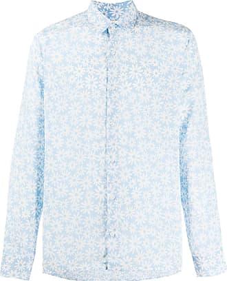 Sandro floral print shirt - Azul
