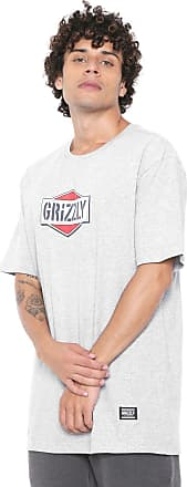 Grizzly Camiseta Grizzly Family Of Grizz Cinza