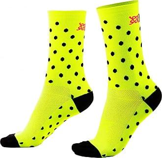 Hupi Meia Hupi Amarelo Neon Dots, Cor: Amarelo Neon, Tamanho: Único